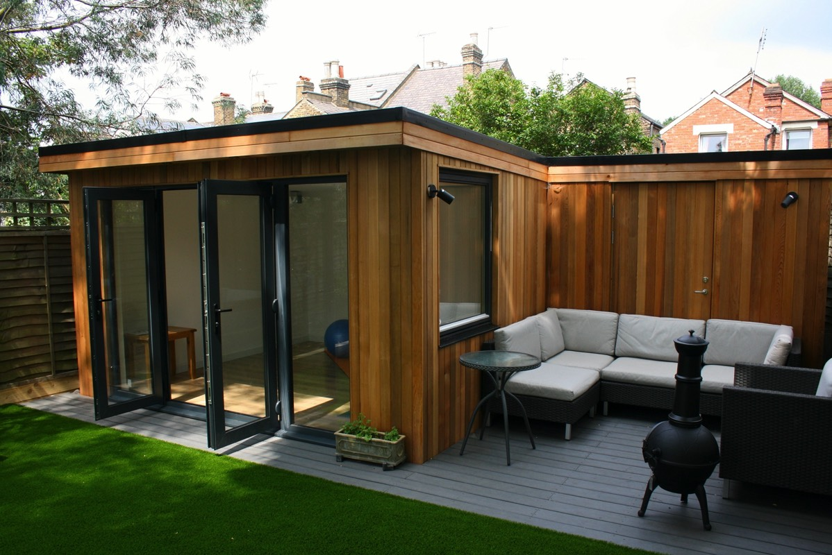 Latest garden office buildings for Garden building design ideas